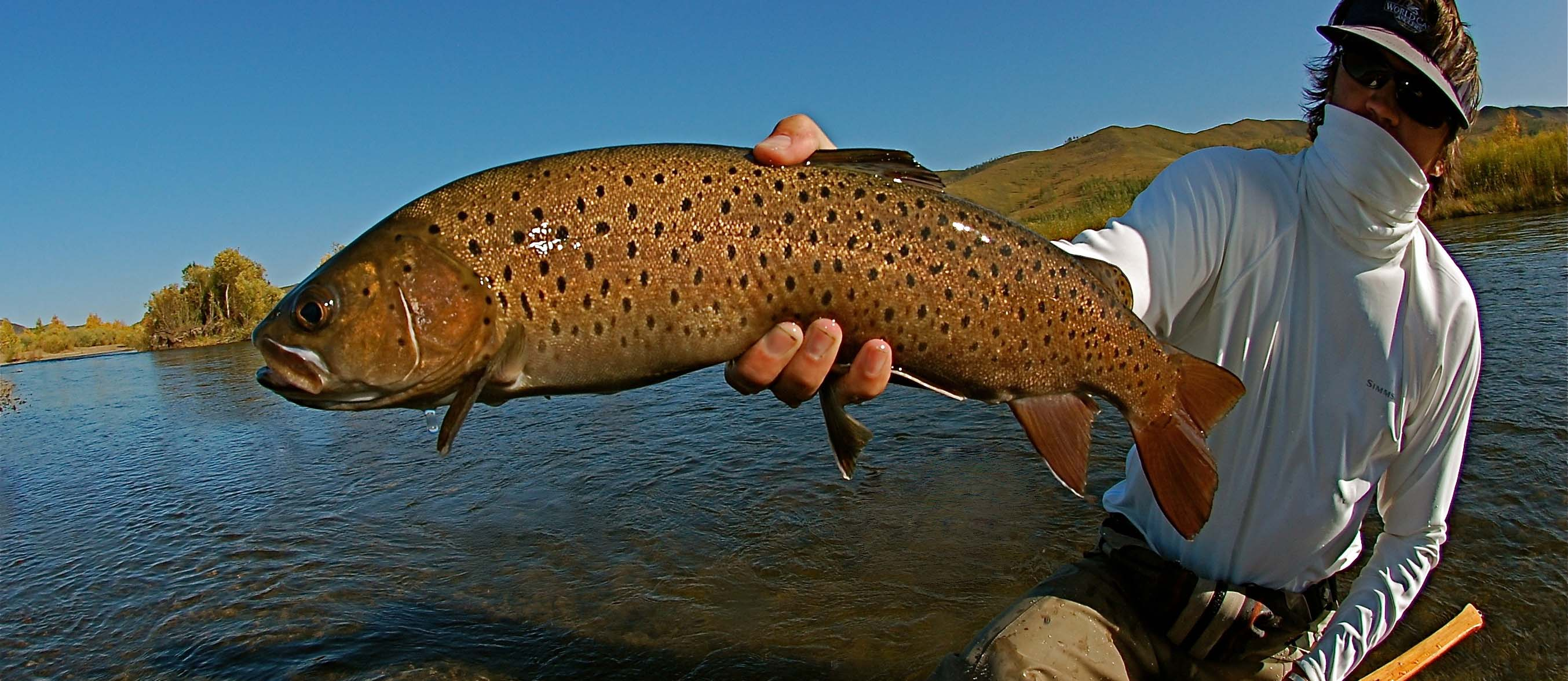 Mongolia Taimen Fly Fishing Travel Lodges Expeditions