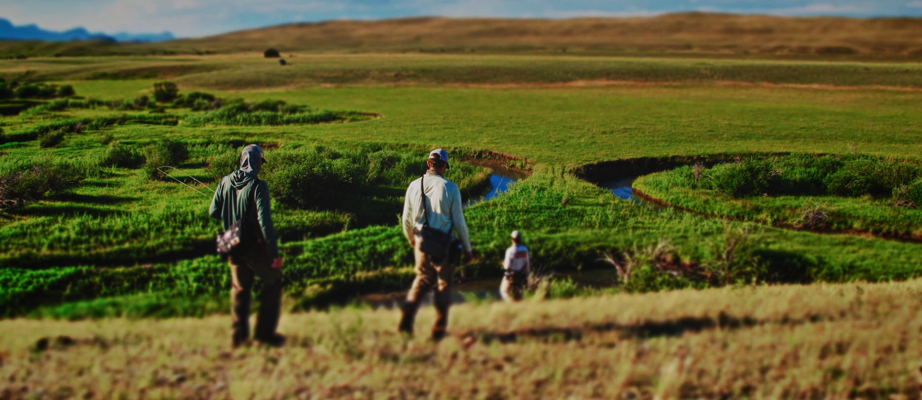 Private Water Wyoming Dry Fly Fishing Guide Service