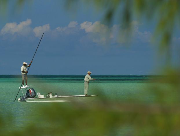 h2o bonefish bahamas fishing guides