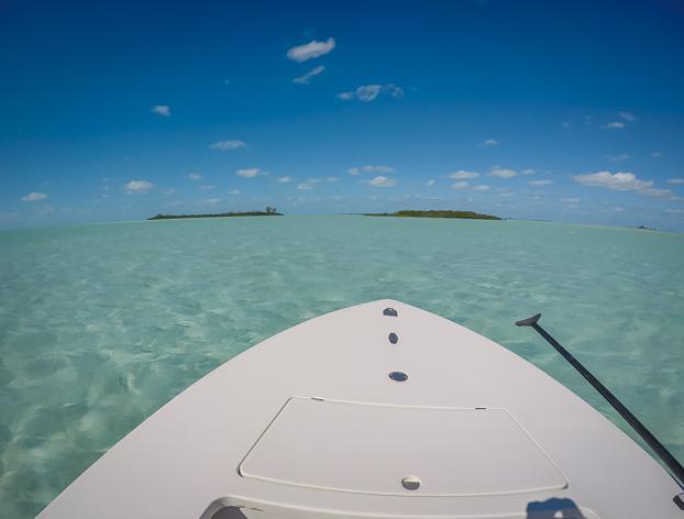 Swain's Cay Lodge Bahamas Bonefishing