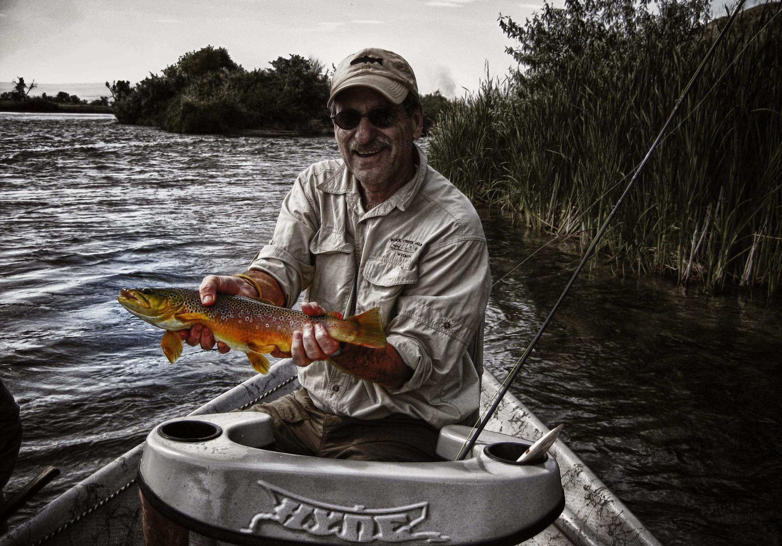 Float Tailwater Wyoming Montana Fly Fishing Drift Boat Guide Trip