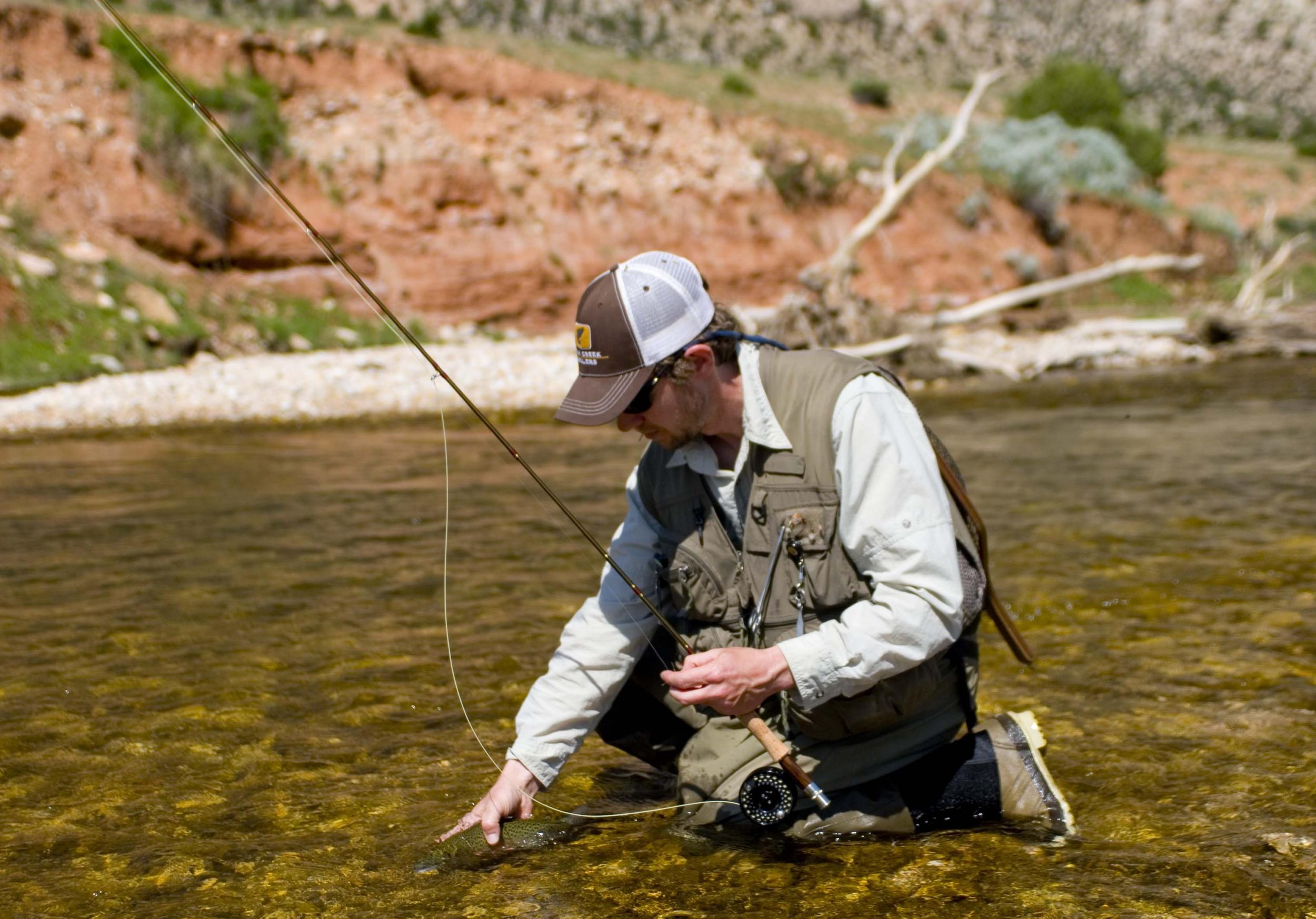 Powder River Yellowstone Park Fly Fishing